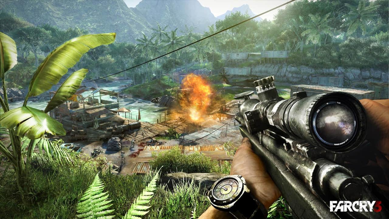 孤岛惊魂3游戏画面