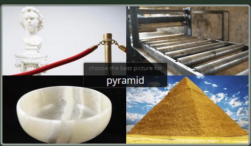 选择一张金字塔的图片吧